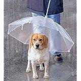 ペット用 傘 小型犬~中型犬くらいまで わんちゃんお散歩用傘 雨の日の散歩も大喜び♪