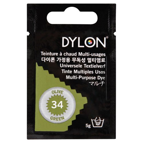 DYLON マルチ (衣類・繊維用染料) 5g col.34 オリーブグリーン