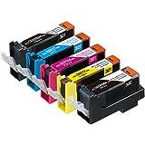 【Amazon.co.jp限定】エコリカ リサイクルインクカートリッジ CANON 5色マルチパック BCI-321+320/5MP EC-C321+320/5A (FFP・封筒パッケージ)