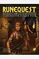 RuneQuest Gamemaster Screen Pack Paperback