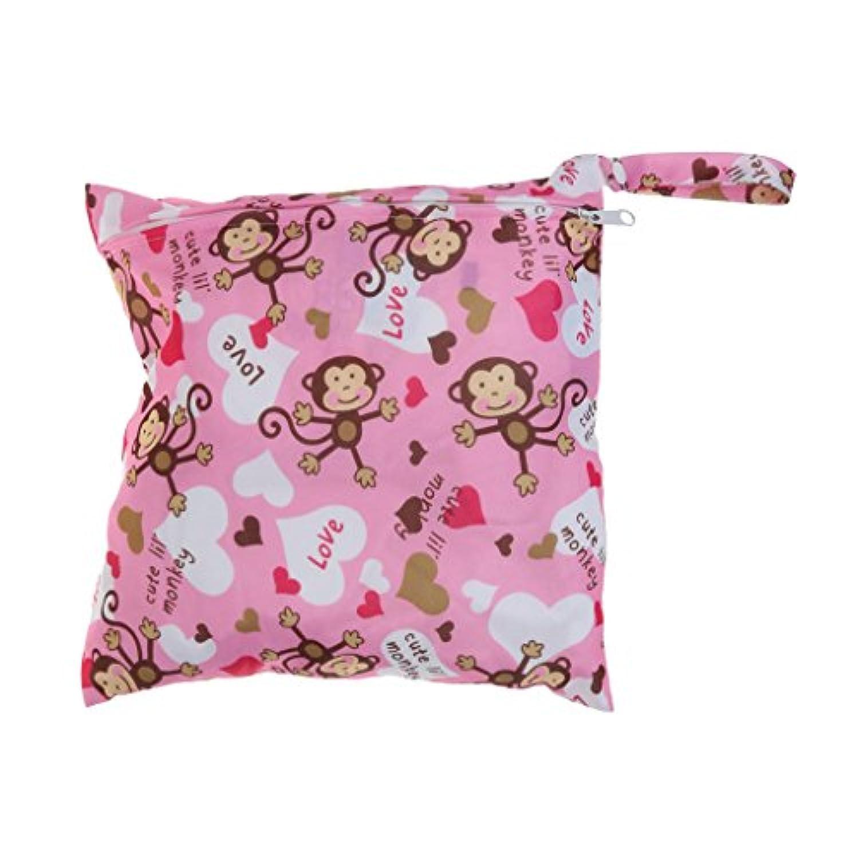SONONIA 防水 再利用可能 赤ちゃん ジッパー おむつ袋 ウェット ドライ 水泳 トラベル トート バッグ 収納バッグ 全11色 選べる - #3
