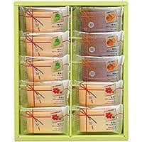 中山製菓 果実のクリームサンド 10個