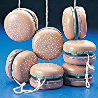 Hamburger yoyos (1 dozen) - bulk 【You&Me】 [並行輸入品]