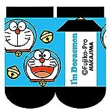 ナカジマコーポレーション I'm Doraemon キッズソックス ドラえもん ブルー 13〜18cm 靴下 くつした 子供 141880-20
