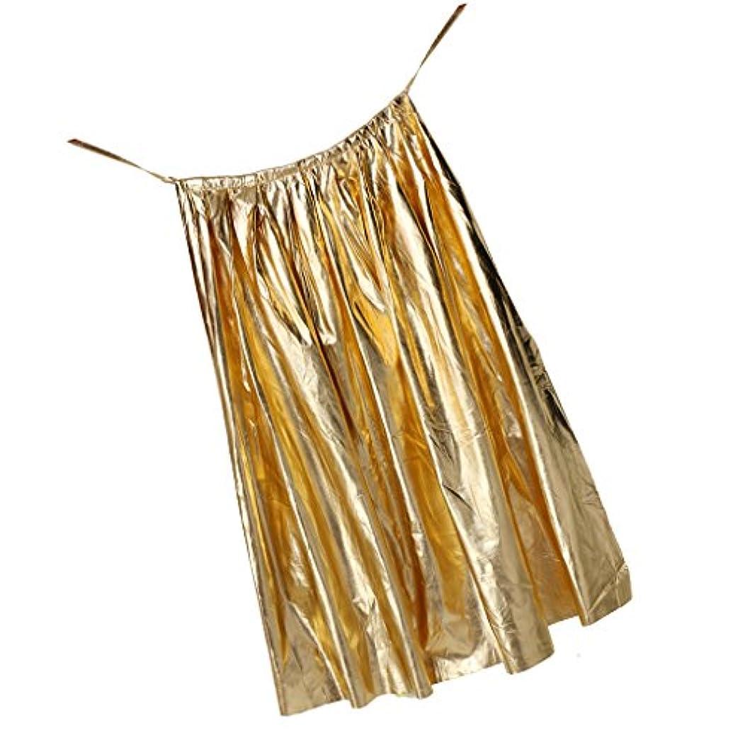 心のこもった顕現台風Perfk 金属製 ハロウィーン パーティー ステージ 仮装 ファンシー ボール コスチューム コスプレ マント 軽量 全5色 - ゴールド