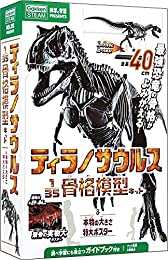 ティラノサウルス1/35骨格模型キット&本物の大きさ特大ポスター
