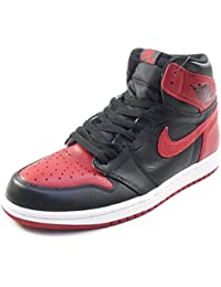 NIKE ナイキ AIR JORDAN 1 RETRO HIGH OG BANNED 555088-001 スニーカー 赤 28.0cm
