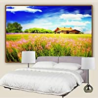 Sproud 美しい自然の風景が描かれた背景の壁の大きな壁画壁紙リビングルームベッドルームの壁紙の絵の背景の壁紙 150 Cmx 105 Cm
