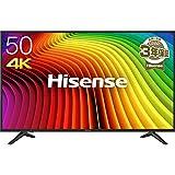 ハイセンス 50V型 4K対応液晶テレビ -外付けHDD録畫対応(裏番組録畫)/メーカー3年保証- 50A6100