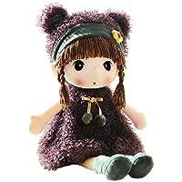 HWD縫いぐるみ、高さが40cm ぬいぐるみ 女の子 赤ちゃん 人形(パープル)