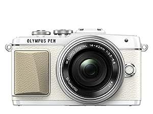 OLYMPUS PEN E-PL7 14-42mm EZレンズキット ホワイト ミラーレス一眼 E-PL7 EZ LKIT WHT
