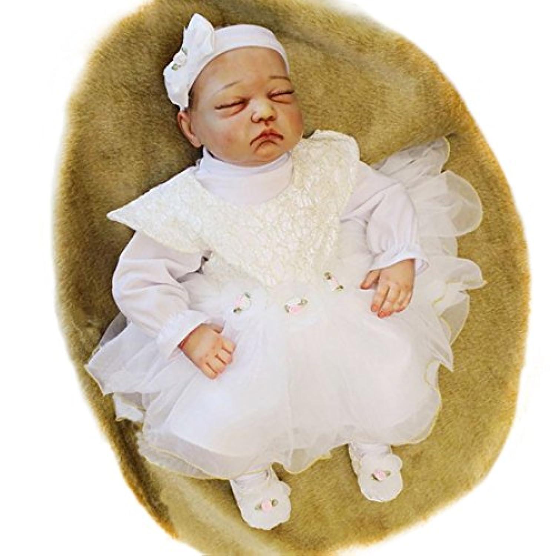 Pursue Baby Precious Handmade Realistic Rebornベビー人形with Hair Valarie、20インチソフトシリコンビニールReal Life新生児赤ちゃん人形Weighted forリアルコレクション