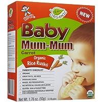 Mum Mum Rice Biscuits - Organic Carrot - 1.76 oz by Mum Mum [並行輸入品]