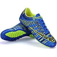 Men's Cycling Shoes, Casual Road Biking Shoes Breathable Ventilation Ultra Light Sneakers Comfortable Anti-Slip Gym Running Shoe,Blue,40