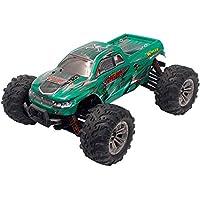 SUKEQ オフロード リモートコントロールカー 1:16スケール 2.4Ghz 4WD 高速RCカー レーシング ロッククローラー 電動RCバギー オフロード車 グリーン