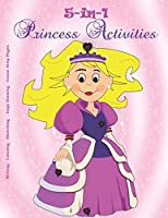 5-in-1 Princess Activities - Writing - Coloring - Sketching - Copy Drawing - Comic Strip Pages.: Teaching kids to thrive with their imagination. (Skellee Activities)
