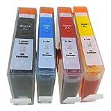 HP178XL (BK/C/M/Y) 4本パック(増量サイズ) [HP]ヒューレット・パッカード 新互換インクカートリッジLED・残量表示付き (最新型ICチップ付き) 【A.I.S製品】