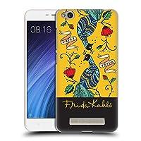 Official Frida Kahlo ミラー ピーコック ハードバックケース Xiaomi Redmi 4a