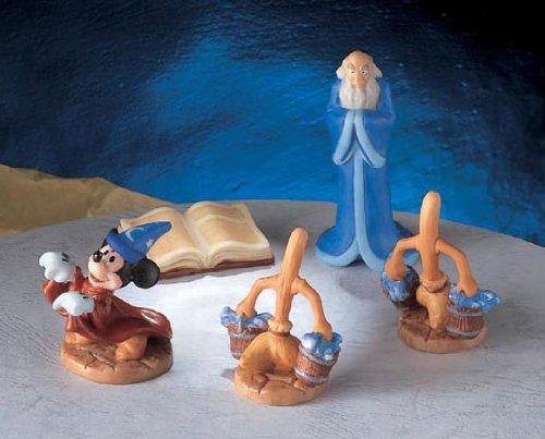 모형 정원 피규어 세트 판타지아(미키마우스) 디즈니