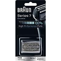 Braun (ブラウン) シリーズ7 網刃・内刃一体型カセット 70B (F/C70B-3 互換品) ブラック 並行輸入品
