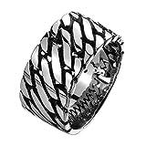 ZAKAKA 指輪 メンズ クロムハーツ風 リング ファッション アクセサリー [ギフトボックスを提供] 17号 19号 21号24号を提供 (21)
