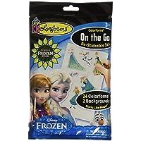 Colorforms Brand Frozen On The Go Restickable Set [並行輸入品]