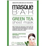 仮面劇バー緑茶シートマスク - 3完全なマスク (P6B Masque Bar Bt) (x2) - Masque Bar Green Tea Sheet Mask - 3 complete masks (Pack of...