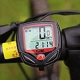 zmart サイクルコンピューター 防水 自転車 速度 距離 時計
