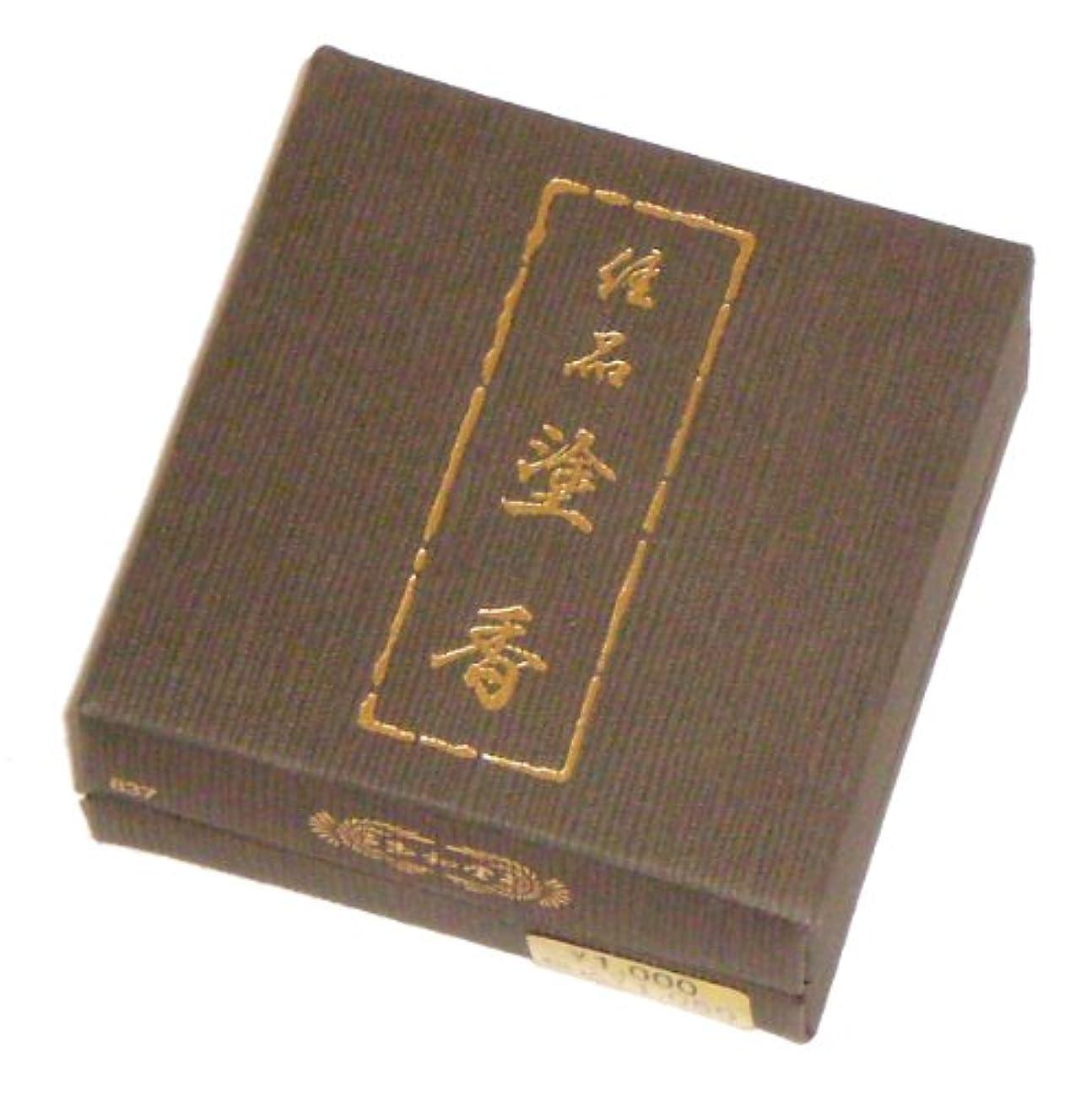 玉初堂のお香 佳品塗香 15g 紙箱 #837