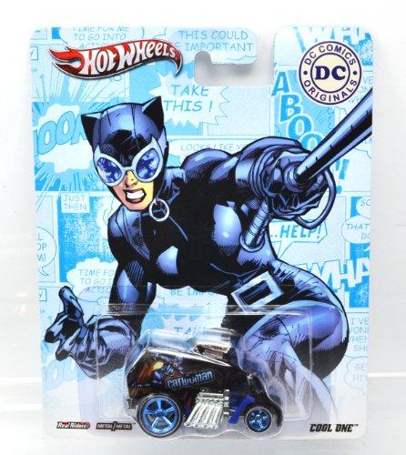 """MATTEL HOTWHEELS """"pop culture"""" DC COMICS  BATMAN CATWOMAN """" COOL ONE """" マテル社製 ホットウィール 「ポップカルチャー」 DC コミックス バットマン キャットウーマン 「 クールワン 」"""