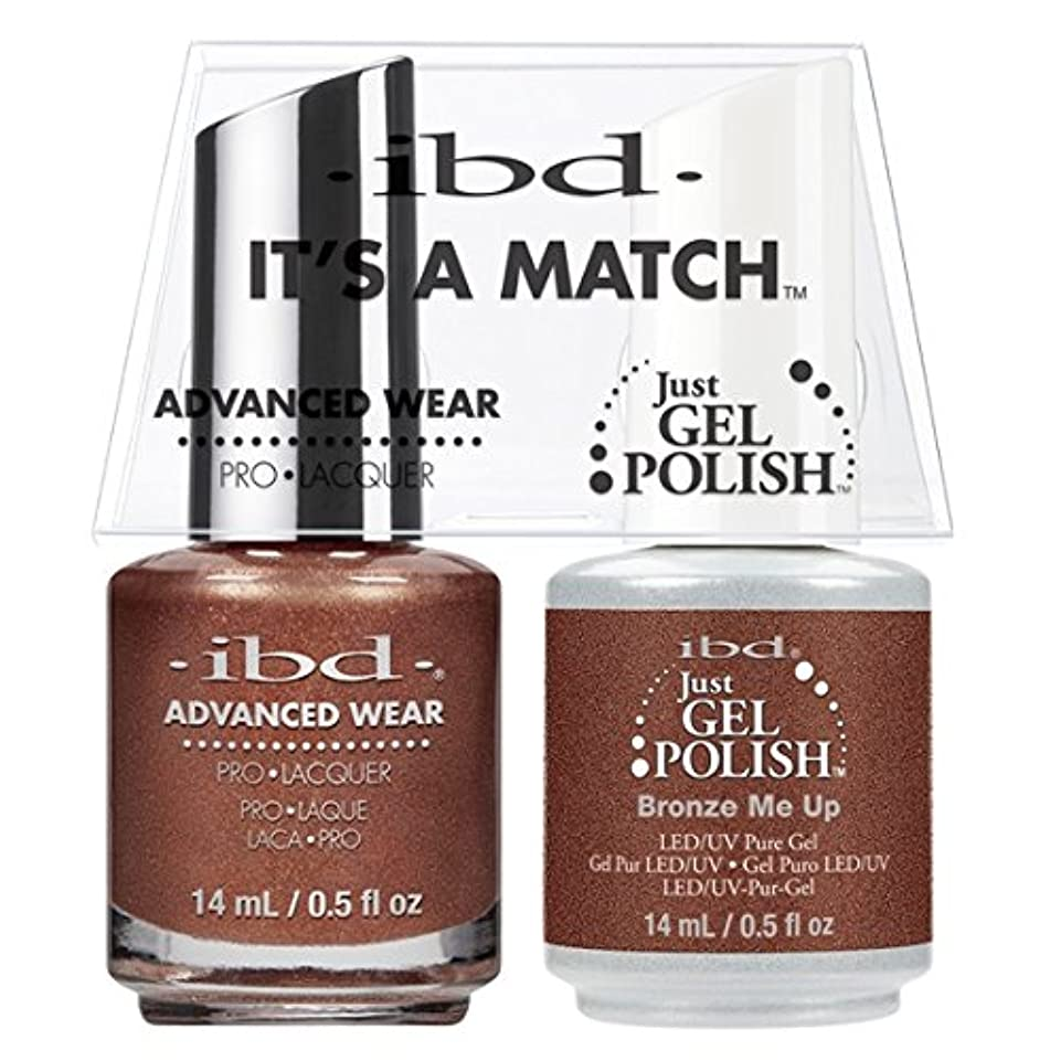 テレビ空白体現するibd - It's A Match -Duo Pack- Bronze Me Up - 14 mL / 0.5 oz Each