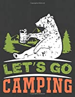 LET'S GO CAMPING: Hiking Journal With Prompts To Write In, Trail Log Book, Hiker's Journal, Hiking Journal, Hiking Log Book, Hiking Gifts,