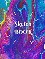 ScetchBook : Writing, Painting, Sketching or Doodling, 150 Pages, 8.5x11 With Blank Pages, Drawing Notebook Volume 13: Blank Pages for artists, girls and kids, Perfect for Journal, Doodling, Sketching and Notes