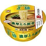 マルちゃん マルちゃん正麺 カップ 濃厚とろ豚骨 97g×12個
