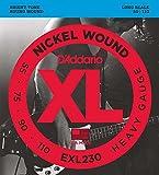 【国内正規品】 D'Addario ダダリオ ベース弦 ニッケルワウンド Heavy(55-110) ロングスケール EXL-230 EXL230