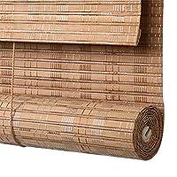 WENZHE 竹屏幕 竹スクリーン ウッドブラインド 防水 抗カビ ワニス処理 パビリオン 家 バルコニー アウトドア、 3色、 カスタマイズ可能なサイズ (色 : 3#, サイズ さいず : 100x160cm)
