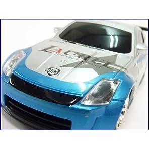 QY◇日産フェアレディZ型レーシングドリフトラジコンカーRCシルバー