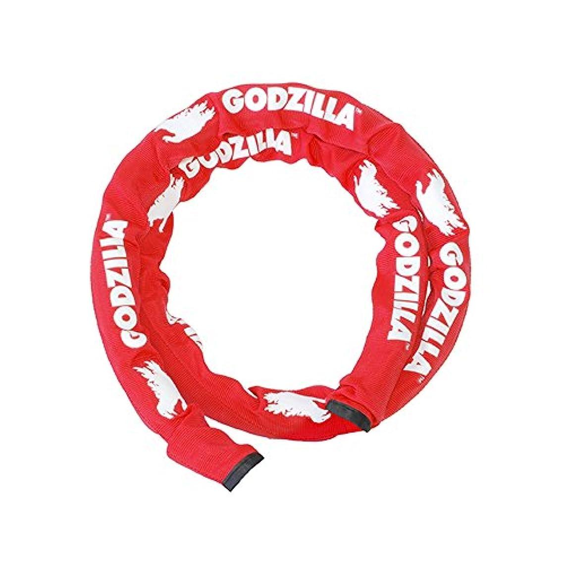 ためらうポルトガル語マーティンルーサーキングジュニアゴジラ SL-2515-R ロゴ入り繊維カバー(253L)レッド 165-01021