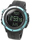 [ラドウェザー]腕時計 ドイツ製センサー 電子コンパス/高度/気圧/温度/天気 デジタル時計 アウトドア ウォッチ