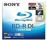 SONY 日本製 ビデオ用BD-R 追記型 片面2層50GB 6倍速 プリンタブル 単品 BNR2VBPJ6