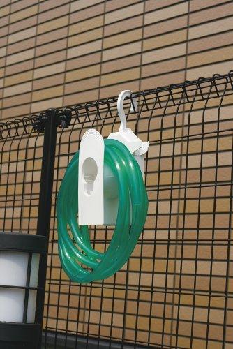 タカギ(takagi) コンパクトホースハンガー RA100WT  散水 ホースリール 本体のみ ホースなし 【安心の2年間保証】