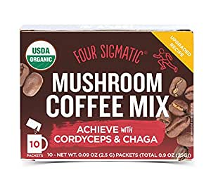 Four Sigma Foods Mushroom Coffee, 10 Count by Four Sigma Foods 海外直送