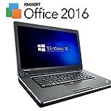 早い者勝ち!!サクサクCorei3 【最新 Office 2016搭載】【最新OS Windows10 搭載】 Lenovo Edge 15 ( Core i3 2.2GHz / メモリ 4GB / HDD 120GB以上 / DVDが焼ける / 15.6インチワイド / 無線LAN搭載(Wi-FiもOK) / HDMI ) 中古 ノートパソコン LE00008 ※バッテリー残量はございませんが、ACアダプター接続でご利用可能です。