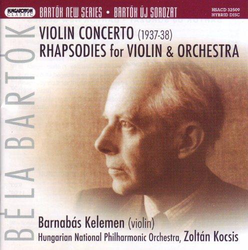 Violin Concerto/Rhapsodies for Violin & Orch.