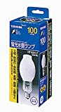 東芝 蛍光水銀ランプ 蛍光形 100W E26口金 HF100X-F