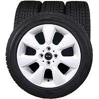 16インチ 4本セット スタッドレスタイヤ&ホイール DUNLOP (ダンロップ) DSX 195/55R16 BMW MINI 純正 16×6.5J(+48) PCD100-4穴