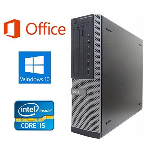 【Microsoft Office 2016搭載】【Win 10搭載】DELL 7010/第三世代Core i5-3550 3.3GHz/超大容量メモリー8GB/HDD:2TB/DVDスーパーマルチ/無線搭載/無線キーボードマウス/中古デスクトップパソコン (ハードディスク:2TB)