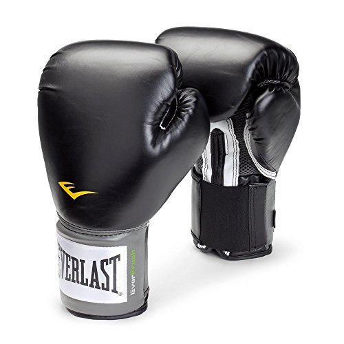 Everlast(エバーラスト) プロスタイル 練習用ボクシンググローブ 8oz ブラック 並行輸入品