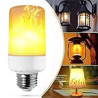 Frame Lamps, LED Bulbs, Candle Lights, LED Bulbs Candle Candle Afraid Flame Decoration Energy Saving E26 3 Mode Illumination Dark Bulb Color