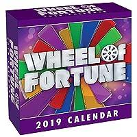 Wheel of Fortune 2019 デイリーデスク ボックス カレンダー